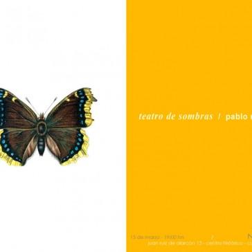 Pablo Rasgado / Teatro de sombras, 2013