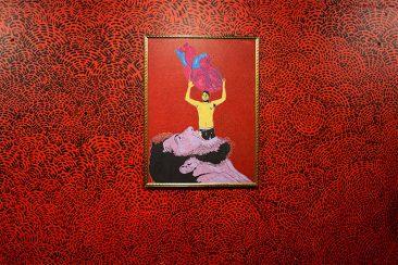 Estuche, Acrílico sobre tela, 120 x90 cm, 2009