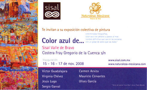 Color Azul de…, 2008
