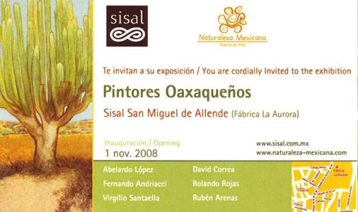 Pintores Oaxaqueños, 2008