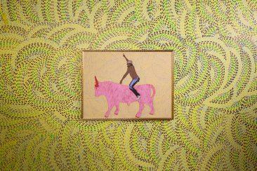 Vamos por todo, Acrílico sobre tela, 120 x 90 cm, 2009