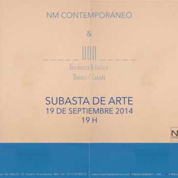 Subaste de Arte, 2014