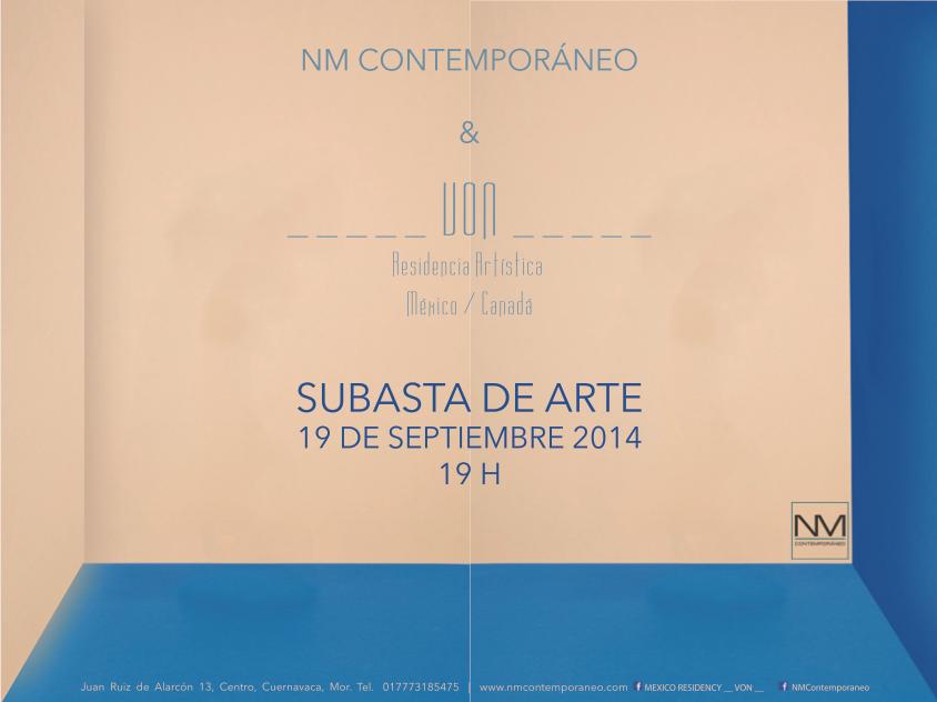 Subasta de Arte 2014
