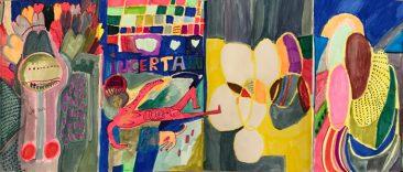Desórdenes en Plural, Libro de artista, 21 x 13.5 cm, 2015