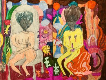 Desórdenes, Libro de artista, 21 x 13.5 cm, 2015