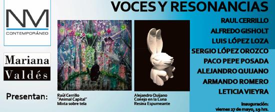 Voces y Resonancias, 2011