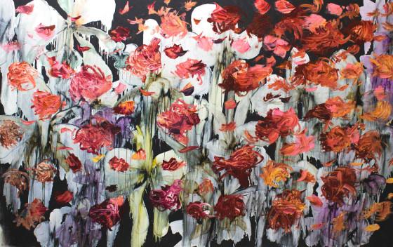 Oil on canvas 190 x 260 cm