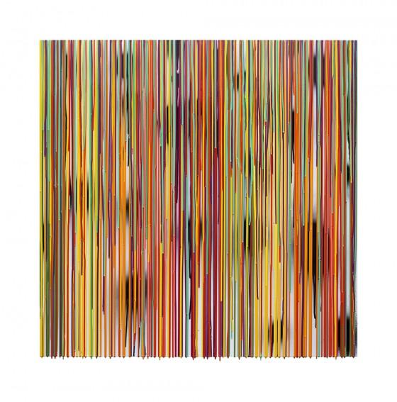 RC-03, pigmentos y resinas epóxicas / mdf, 122 x 122 cm, 2015.