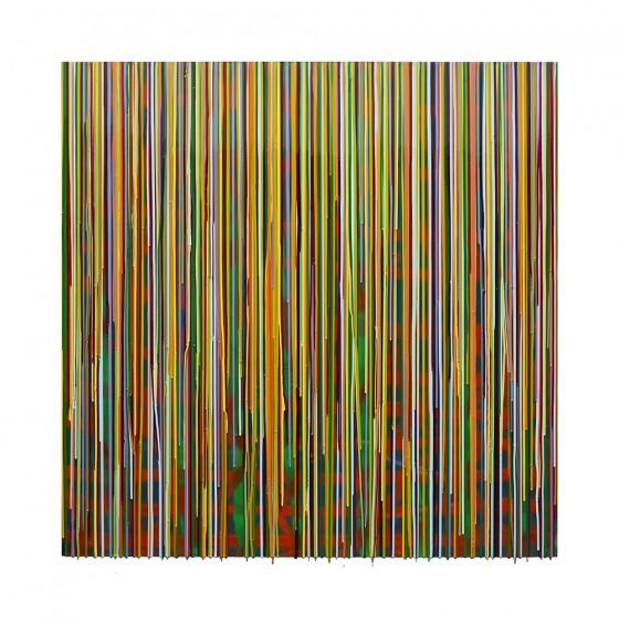 RC-05, pigmentos y resinas epóxicas / mdf, 122 x 122 cm, 2015.