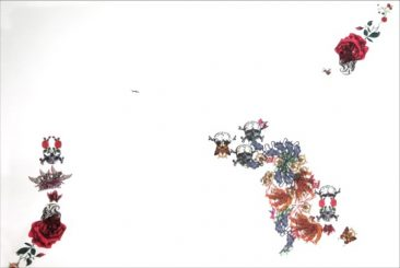 De la serie: Tierra de fantasmas, Transferencia sobre papel de algodón, 100 x 70 cm, 2012