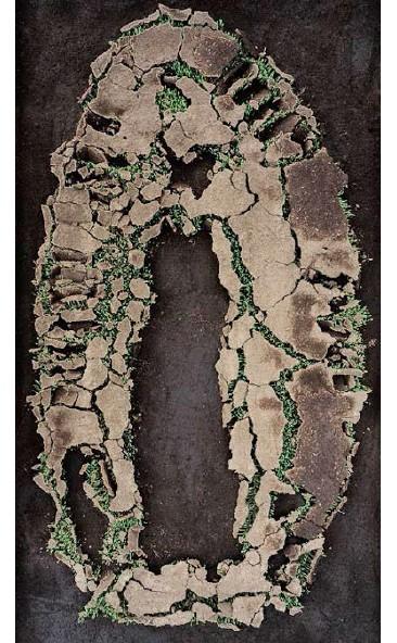 APARICIÓN I,Impresión Cromogénica Montada en Acrílico por Emulsión, 180 x 110 cm.