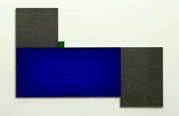 AZUL RECICLADO, Impresiones Digitales en Diasec con Plomo, 210 x 280 cm, 2015, Edición: 3.