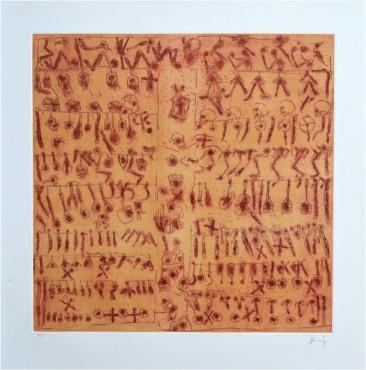 Tratado de Talabartería, Grabado, 78  X 73 cm, 2014