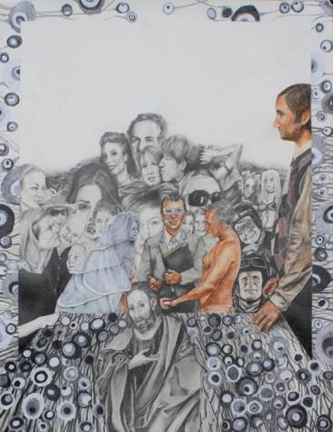 RECOLECCIÓN 6, Serie: Recolección, Mixta / Papel, 50 x 60 cm, 2010.