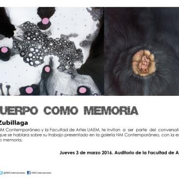 """Conversatorio """"El cuerpo como memoria"""""""