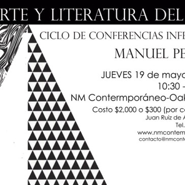 Infernal cycle of conferences in Arts and Literature of Evil by Manuel Pereira