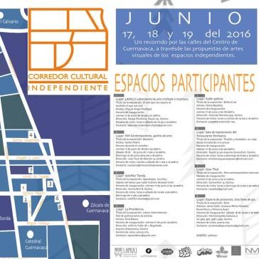 Corredor Cultural Independiente: Segunda edición.