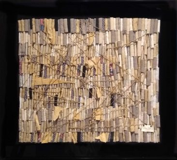 [H], Textil, 82 x 92 cm