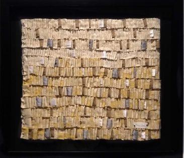 [O], Textil, 84 x 94 cm