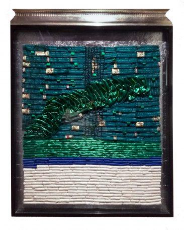 IRISH CLIFF, Textil, 128 x 94 cm