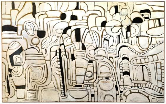 ISFAHA, Óleo sobre tela , 350 x 200 cm.