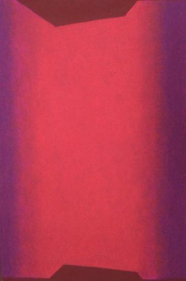 SIN TÍTULO, Óleo pastel sobre papel amate, 60 x 40 cm, 2017