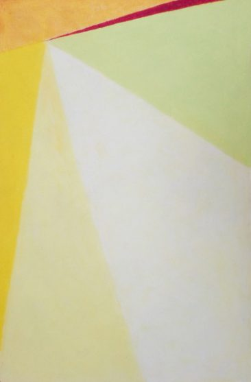 SIN TÍTULO,Óleo pastel sobre papel amate, 60 x 40 cm, 2017