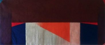 PANORAMA, Acrílico sobre tela, 109 x 254 cm, 2012