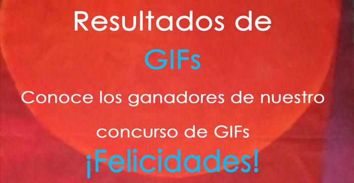 Resultados del concurso Gif
