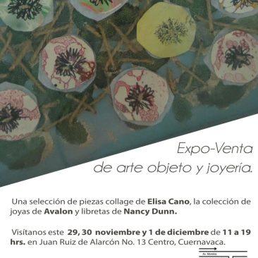 Expo-Venta de arte objeto y joyería
