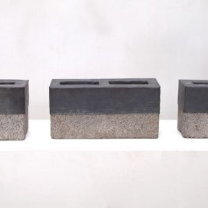 Cinder Blocks for my Father (Tríptico) , 2005