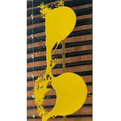Yellow Mirror , 2020. Ray Smith