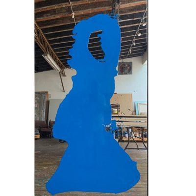 Blue Mirror, 20120. Ray Smith